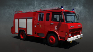SCANIA P270 UK FIRE